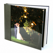Acrylic 'Ice' Photographic Wedding Album