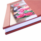 Acrylic 'Ice' Panoramic Photographic Wedding Album