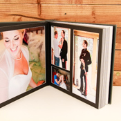 Allura Matted Overlay Wedding Album