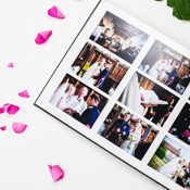 Florentine & Suede Photographic Wedding Albums