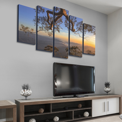 Multi-Panel Wall Art - 5 Up