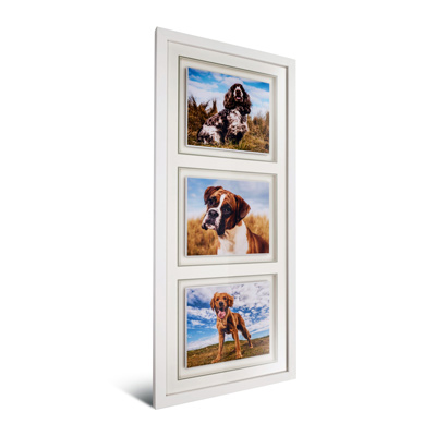Trinity Framed Print Blocks
