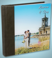 Acrylic Ice Wedding Album