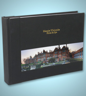 Acrylic Ice Panoramic Wedding Album