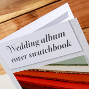 Wedding Album Swatch Book - Graphite Box