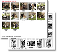 Digital Contact Sheets (Large Index Prints)
