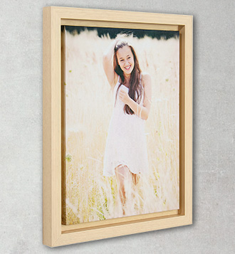 Framed Canvas Wrap Round